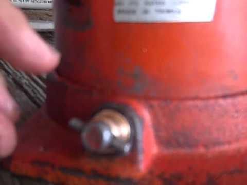 Leaky Hydraulic Bottle Jack Repair