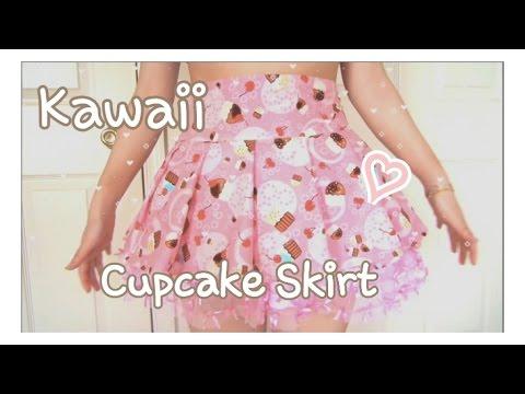 Kawaii Fashion Pleated Skirt | Sewing Tutorial | w