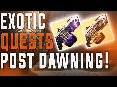 Destiny. How To Get The Nova Mortis & Abbadon Exotic Machine Gun After The Dawning Ended.