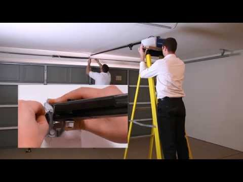 How to Assemble and Install a Chamberlain® Wi-Fi Garage Door Opener