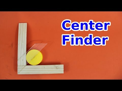 DIY Center Finder