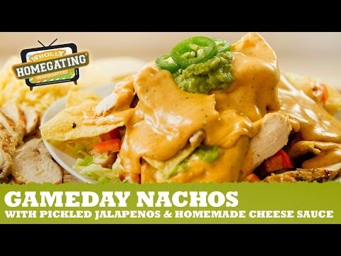 Nachos with Homemade Cheese Recipe | Wholly Guacamole