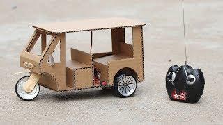 How to Make a RC Rickshaw (Tuk Tuk)