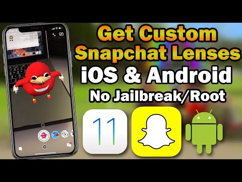 How to Get Custom Snapchat Lenses on iOS & Android (No Jailbreak / No Root)