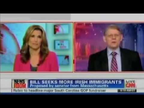 Roy on CNN to Discuss Irish Work Visa bill