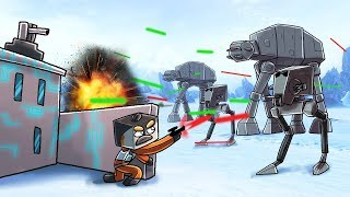 Minecraft | STAR WARS BASE CHALLENGE - Imperial Army Attacks! (Star Wars Base)