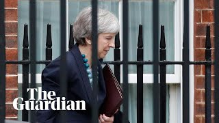 Theresa May makes statement to MPs – watch live