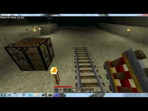 How to make a Powered Rail in Minecraft