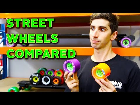Street Wheels Compared - Evolve Skateboards Weekly Ep. 36