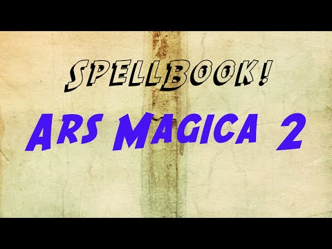 Spellbook! - Ars Magica 2