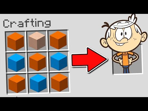Minecraft : How To SUMMON The LOUD HOUSE (Ps3/Xbox360/PS4/XboxOne/PE/MCPE)