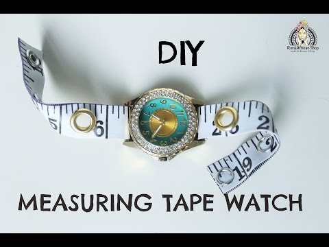 DIY Measuring Tape Watch Ft PULA Frost 014