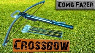 How to make a Crossbow - Homemade PVC Crossbow - Pakfiles com