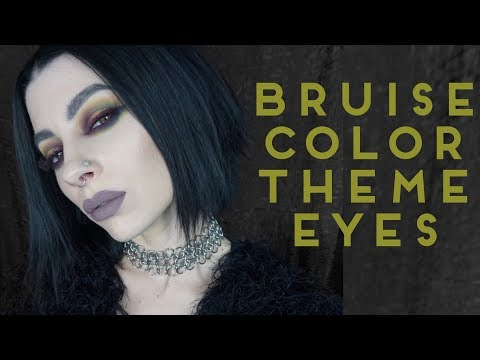 Bruised Color Theme Eye Tutorial