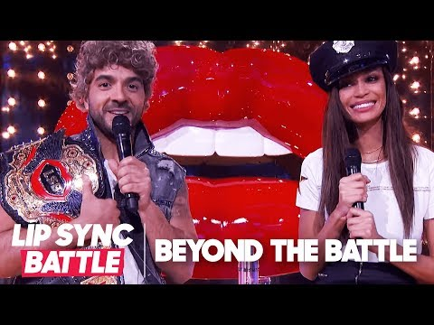 Luis Fonsi & Joan Smalls Go Beyond the Battle | Lip Sync Battle