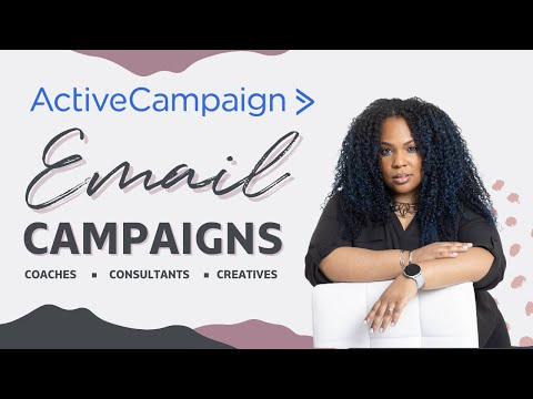 Infusionsoft Competitor Active Campaign -  How to Create an Email Campaign Newsletter