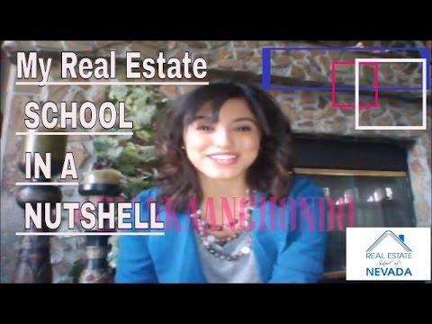 Step 1...Choosing my Real Estate School ...& why.