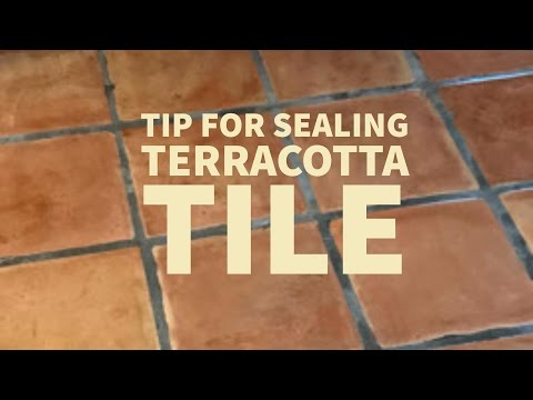 Don't make these Saltillo terracotta Tile Sealing Mistakes
