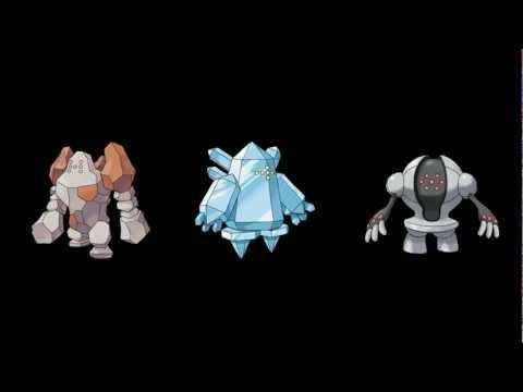 Pokémon Black 2 and White 2 - Regirock/Regice/Registeel/Regigigas battle (+ Download)