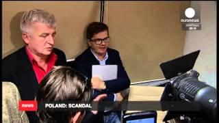 Download Poland - government scandal - ABW in Wprost - euronews Video