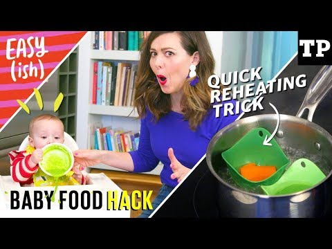 DIY baby food: quick reheating hack (no microwave) | Easy(ish) S01E08