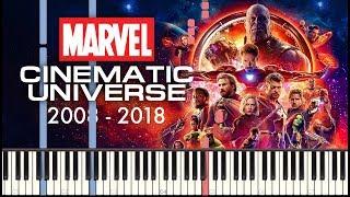 Marvel Studios Piano Medley (2008 - 2018) + SHEETS/SYNTHESIA