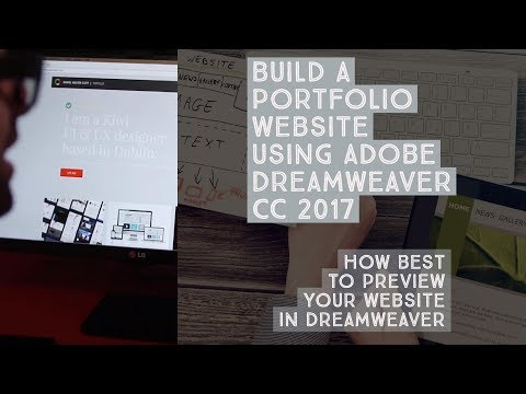 How best to preview your website in Dreamweaver - Dreamweaver Templates [6/38]