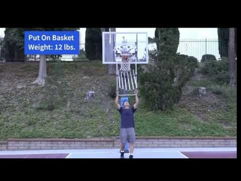 World's First Portable Basketball Return System