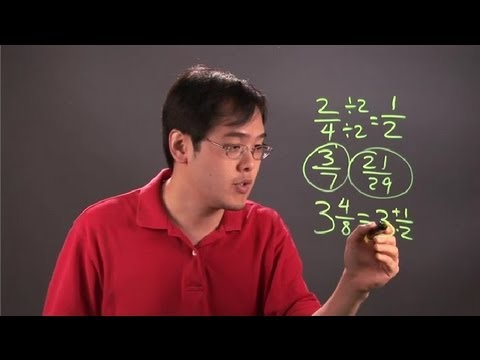 How to Turn a Fraction or Mixed Number Into Its Simplest Form : Fractions 101