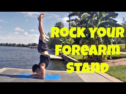 Forearm Balance (Pinchamayurasana)