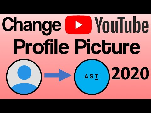 How To Change Your YouTube Profile Picture! 2018