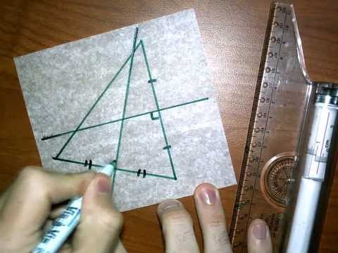 Perpendicular Bisectors in a Triangle with Patty Paper