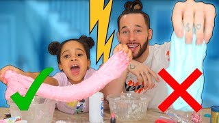 Who Can Make the Best SLIME Challenge!