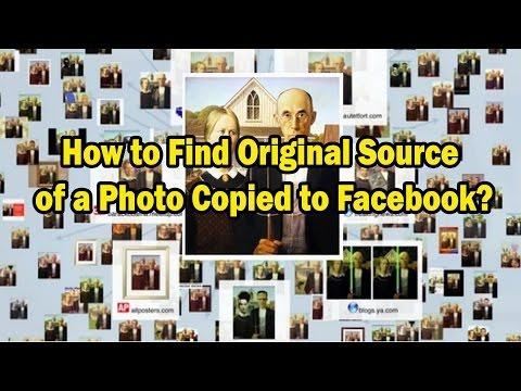 How to Find Original Source of a Photo Copied to Facebook with Chrome Extension