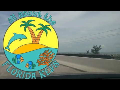 A drive down the 7 Mile Bridge & a look at the old Henry Flagler Railroad