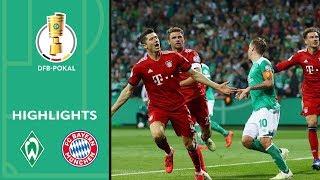 SV Werder Bremen - FC Bayern München 2:3 | Highlights | DFB-Pokal 2018/19 | Halbfinale