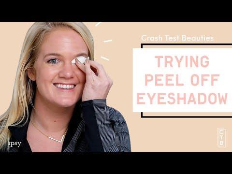 We Tried Press On Eyeshadow   Crash Test Beauties