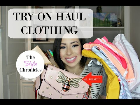 Haul & Try On - Old Navy, Nike, Kut from the Kloth & My Super Cheap Handbag!!