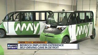 Self-driving shuttles hit downtown Detroit streets beginning Monday