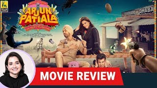 Arjun Patiala | Bollywood Movie Review by Anupama Chopra | Diljit Dosanjh | Kriti Sanon