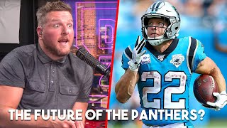 Pat McAfee Says The Panthers Are Christian McCaffrey