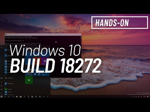 Windows 10 build 18272: Hands-on with new features and changes