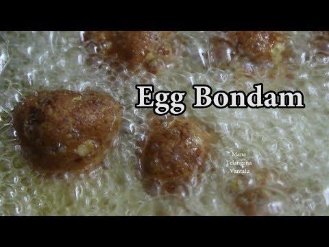 Egg Bonda with OATS @ Mana Telangana Vantalu
