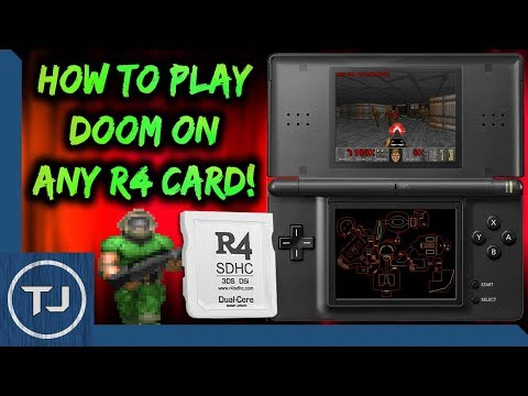 How To Play DOOM On Any R4 Card! (DS/DSi/3DS/2DS)