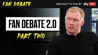 The Overlap Live Fan Debate 2.0: Gary Neville, Jamie Carragher & Paul Scholes | PL Returns Part 2