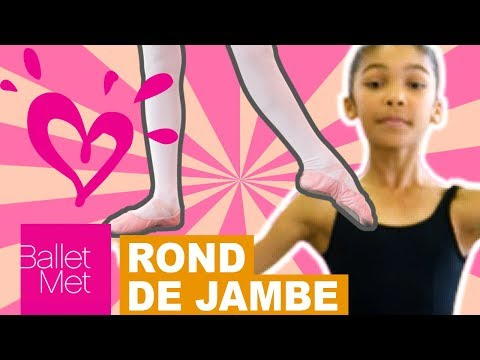 HOW TO DO A ROND DE JAMBE 💗 JUSTICE - BALLET