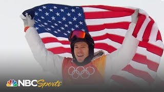 Shaun White wins halfpipe gold with epic final run