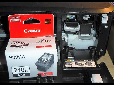 How To Change Ink Tanks On Canon PIXMA MG 3520 WiFi 3 In 1 Printer