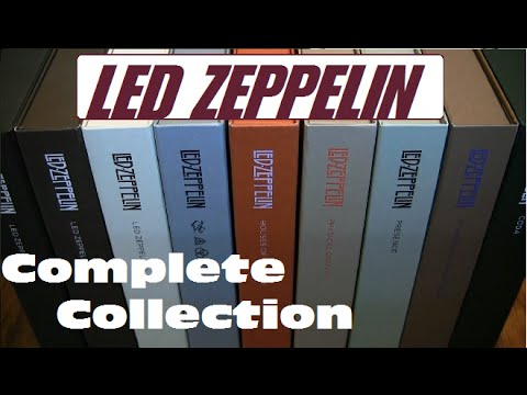 LED ZEPPELIN -- Full Collection -- Super Deluxe Unboxing