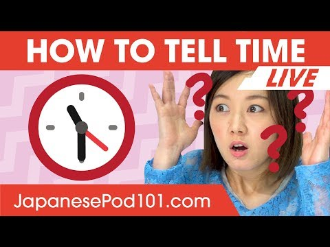 How to Tell Time in Japanese? - Learn Japanese Grammar